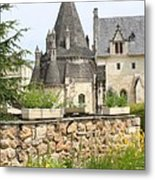 The Kitchenbuilding Of Abbey Fontevraud Metal Print
