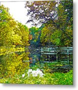 The Lake... Metal Print