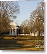 The Lawn University Of Virginia Metal Print