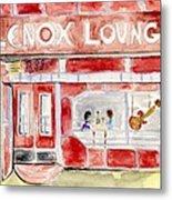 The Lenox Lounge Metal Print