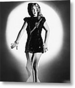 The Lone Wolf In London, Evelyn Ankers Metal Print