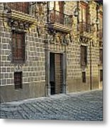 The Madrasah Of Granada Metal Print