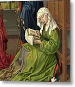 The Magdalen Reading Metal Print
