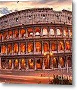 The Majestic Coliseum - Rome - Italy Metal Print