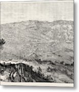 The Military Expedition To Manipur Eastern Frontier Metal Print