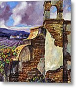 The Mission Vineyard Metal Print