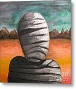 The Mummy And The Curse Of Eternity Metal Print