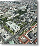 The Museums Area And Hofburg Palace Metal Print
