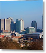 The Nashville Skyline As Viewed Metal Print