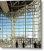 The New Kaohsiung Exhibition Center Metal Print