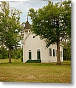 The Old Country Church Metal Print