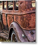 The Old Dodge Metal Print