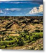 The Painted Hills Metal Print