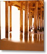 The Pier II Metal Print