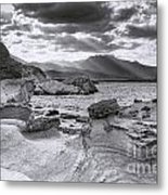 The Queen's Head Geological Park 2. Toned Metal Print