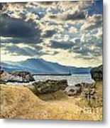 The Queen's Head Geological Park. Metal Print