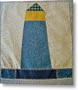 The Quilt Work Of Chambers Island Lighthouse  Metal Print