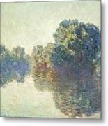 The Seine At Giverny Metal Print