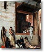The Slave Market Metal Print