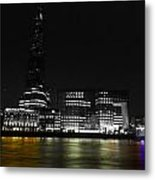 The South Bank London Metal Print