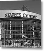 The Staples Center Metal Print