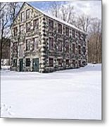 The Stone Mill At The Enfield Shaker Museum Metal Print