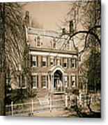 The Taft House - Brown University 1958 Metal Print
