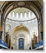 The United States Naval Academy Chapel Metal Print