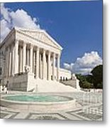 The Us Supreme Court Building Metal Print
