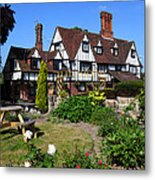 The Weavers Southborough Kent Metal Print