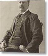 Theodore Roosevelt Metal Print