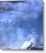 There Be A Storm A Brewin In Nebraska Metal Print