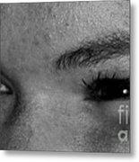 These Eyes Metal Print