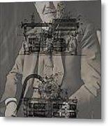 Thomas Edison's Phonograph Metal Print