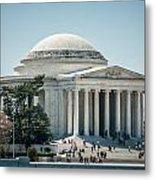Thomas Jefferson Memorial In Washington Dc Usa Metal Print