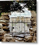 Through The Gate Metal Print by Viacheslav Savitskiy