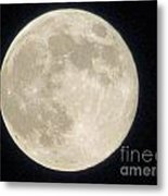 Thunder Moon Metal Print