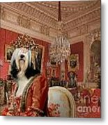Tibetan Terrier Art Canvas Print Metal Print