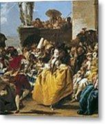 Tiepolo, Giovanni Domenico 1727-1804 Metal Print