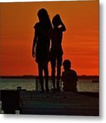 Time With Friends Metal Print