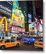 Times Square - New York City Metal Print