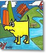 Tippy By The Bay Metal Print