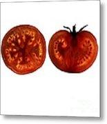 Tomato Slices Metal Print