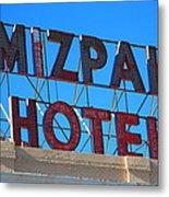 Tonopah Nevada - Mizpah Hotel Metal Print