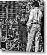 Tony Stewart Introduction Metal Print