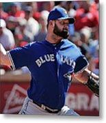 Toronto Blue Jays V Texas Rangers Metal Print
