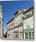 Torre Dos Clerigos Porto Portugal Metal Print
