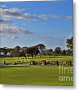 Torrey Pines Golf Course Metal Print