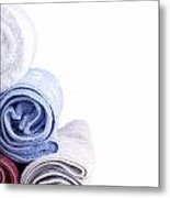 Towels Metal Print