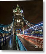 Tower Bridge London Metal Print by Donald Davis